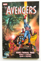 Avengers Kree Skrull War Marvel Graphic Novel Comic Book
