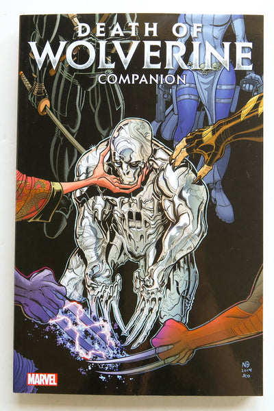 Death of Wolverine Companion Marvel Graphic Novel Comic Book