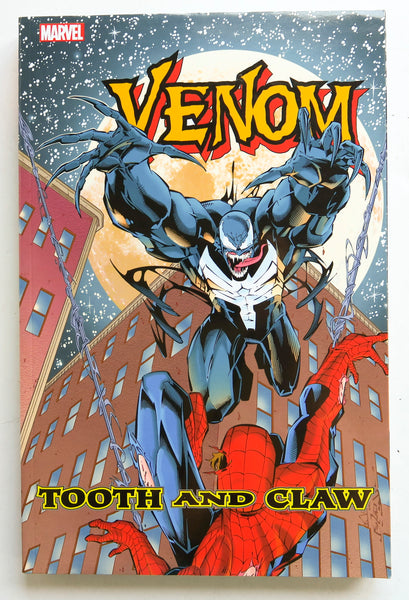 Venom Tooth and Claw Marvel Graphic Novel Comic Book