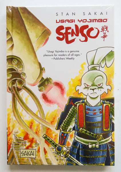 Senso Stan Sakai Usagi Yojimbo Dark Horse Graphic Novel Comic Book
