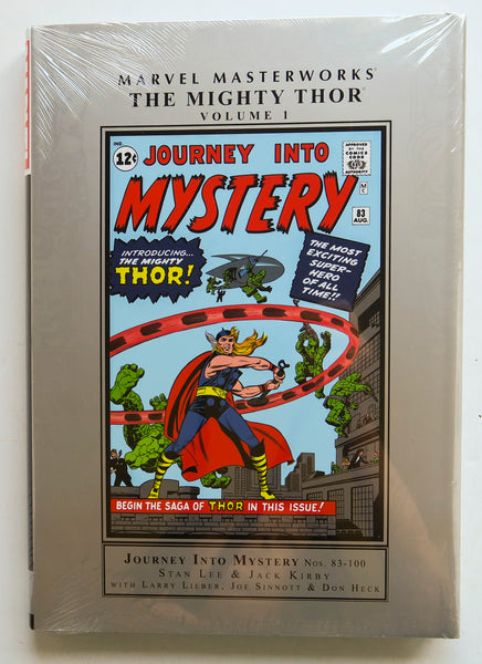 The Mighty Thor Vol. 1 Marvel Masterworks Graphic Novel Comic Book