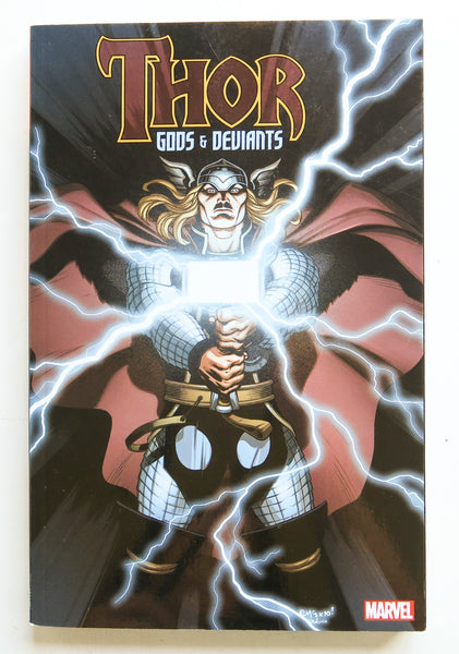 Thor Gods & Deviants Marvel Graphic Novel Comic Book