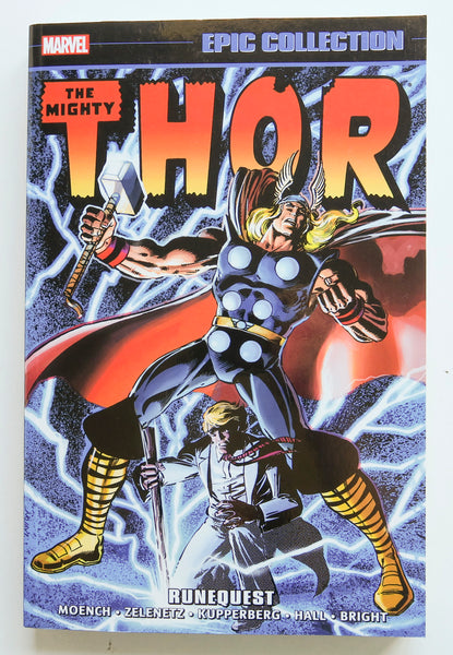 Thor Runequest Marvel Epic Collection Graphic Novel Comic Book