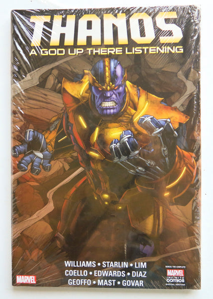 Thanos A God Up There Listening Marvel Graphic Novel Comic Book