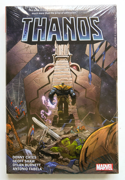 Thanos By Donny Cates Marvel Graphic Novel Comic Book