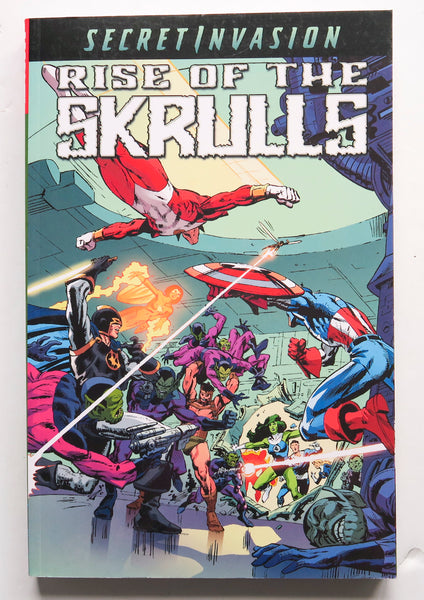 Secret Invasion Rise of the Skrulls Marvel Graphic Novel Comic Book