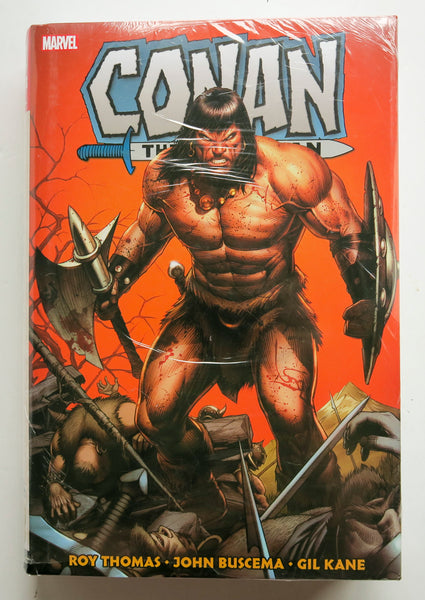 Conan The Barbarian Original Marvel Years Vol. 2 Marvel Omnibus Graphic Novel Comic Book