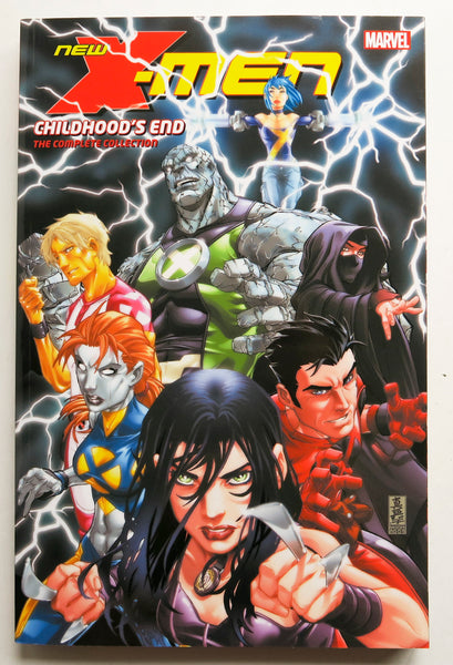 New X-Men Childhood's End Complete Collection Marvel Graphic Novel Comic Book