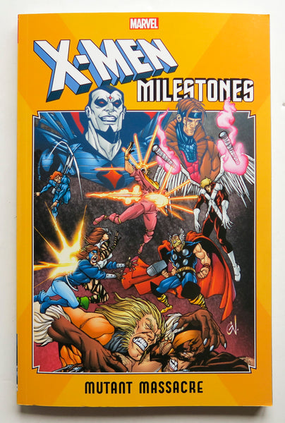 X-Men Milestones Mutant Massacre Marvel Graphic Novel Comic Book