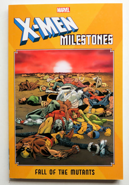 X-Men Milestones Fall of the Mutants Marvel Graphic Novel Comic Book