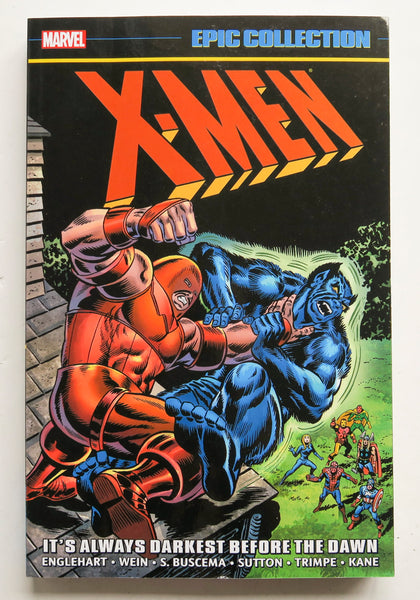 X-Men It's Always Darkest Before The Dawn Marvel Epic Collection Graphic Novel Comic Book