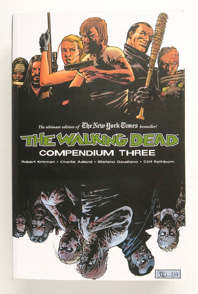 The Walking Dead Compendium Three 3 Image Graphic Novel Comic Book