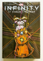 Infinity Starlin Hickman Marvel Omnibus Graphic Novel Comic Book