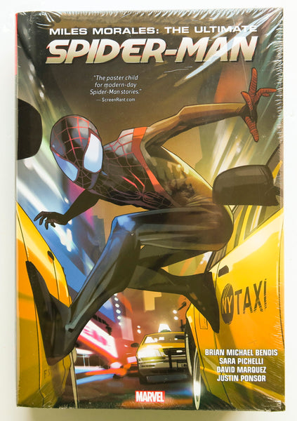 Miles Morales The Ultimate Spider-Man Marvel Omnibus Graphic Novel Comic Book