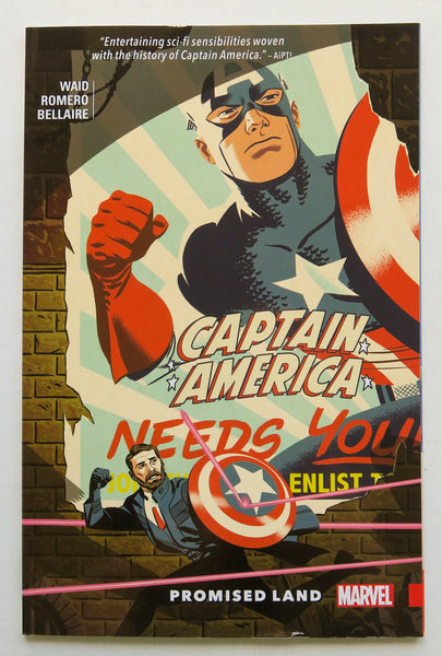 Captain America Promised Land Marvel Graphic Novel Comic Book