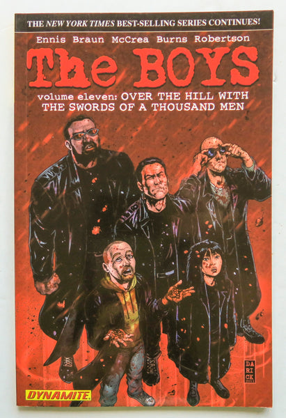 The Boys Over The Hill With The Swords Of A Thousand Men Vol. 11 Dynamite Graphic Novel Comic Book