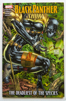 Black Panther Shuri The Deadliest of the Species Marvel Graphic Novel Comic Book