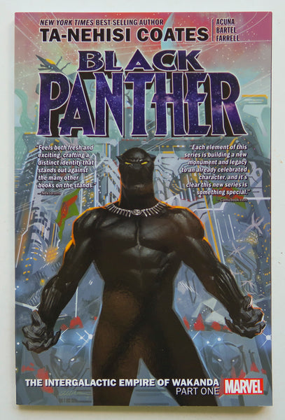 Black Panther Intergalactic Empire Of Wakanda Part One Vol. 6 Marvel Graphic Novel Comic Book