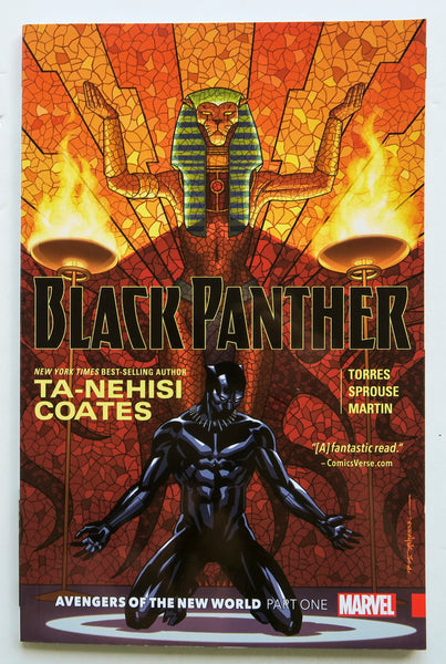 Black Panther Avengers of the New World Part Two Vol. 4 Marvel Graphic Novel Comic Book
