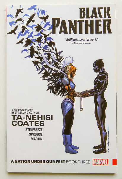 Black Panther A Nation Under Our Feet Book Three Marvel Graphic Novel Comic Book