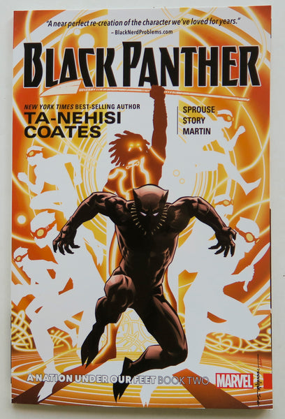 Black Panther A Nation Under Our Feet Book Two Marvel Graphic Novel Comic Book