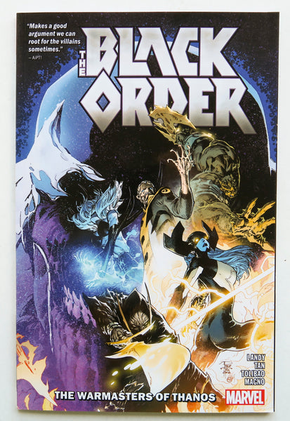 Black Order The Warmasters of Thanos Marvel Graphic Novel Comic Book