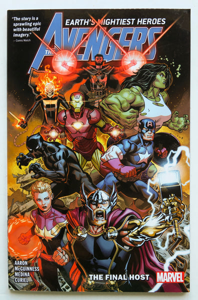 Avengers The Final Host Vol. 1 Marvel Graphic Novel Comic Book