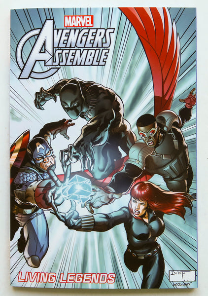 Avengers Assemble Living Legends Marvel Graphic Novel Comic Book