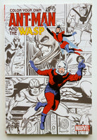 Color Your Own Ant-Man and the Wasp Marvel Coloring Book