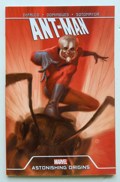 Ant-Man Astonishing Origins Marvel Graphic Novel Comic Book