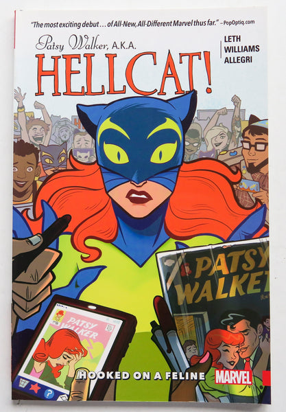 Patsy Walker A.K.A. Hellcat Hooked On A Feline Vol. 1 Marvel Graphic Novel Comic Book