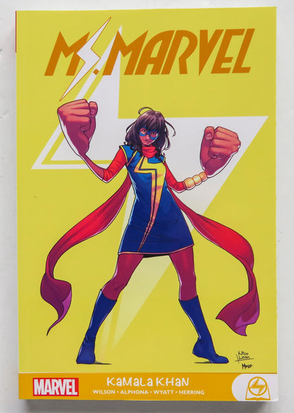 Ms. Marvel Kamala Khan Marvel Graphic Novel Comic Book