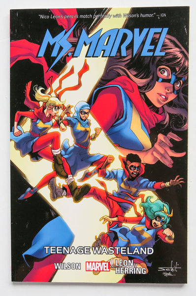 Ms. Marvel Teenage Wasteland Vol. 9 Marvel Graphic Novel Comic Book