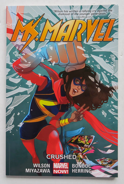 Ms. Marvel Crushed Vol. 3 Marvel Now Graphic Novel Comic Book