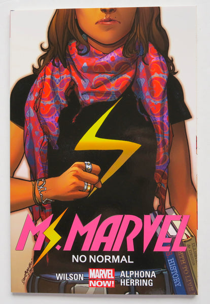 Ms. Marvel No Normal Vol. 1 Marvel Now Graphic Novel Comic Book