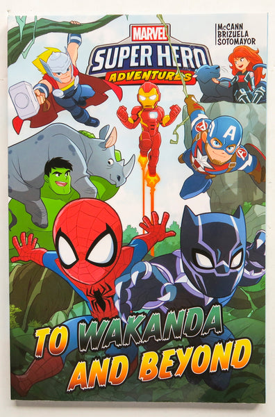 Marvel Super Hero Adventures To Wakanda and Beyond Graphic Novel Comic Book