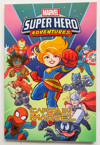 Marvel Super Hero Adventures Captain Marvel Graphic Novel Comic Book
