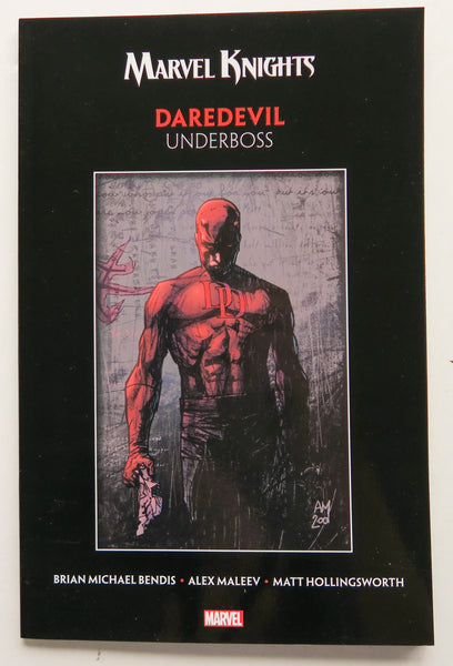 Marvel Knights Daredevil Underboss Graphic Novel Comic Book