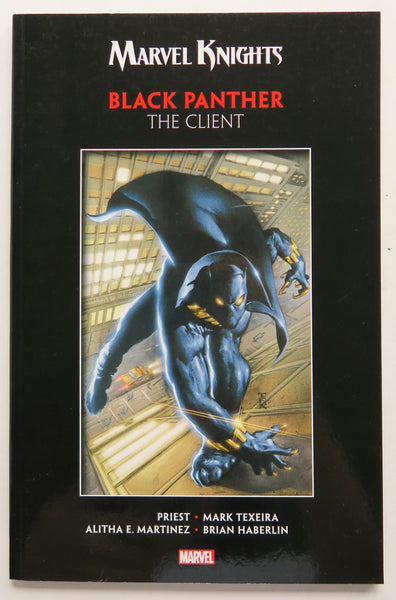 Marvel Knights Black Panther The Client Graphic Novel Comic Book