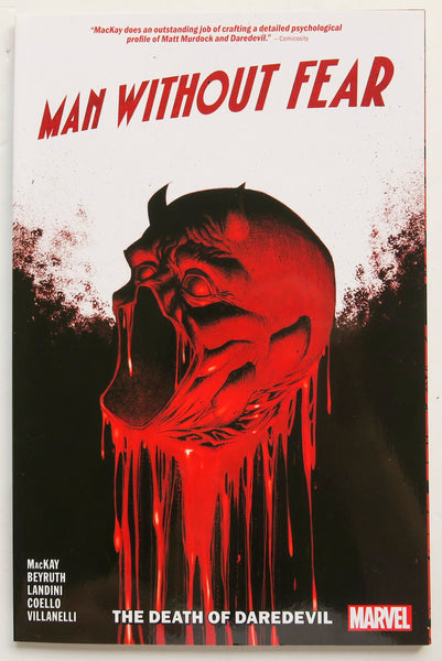 Man Without Fear The Death of Daredevil Marvel Graphic Novel Comic Book