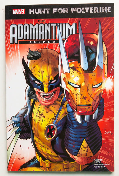 Hunt for Wolverine Adamantium Agenda Marvel Graphic Novel Comic Book
