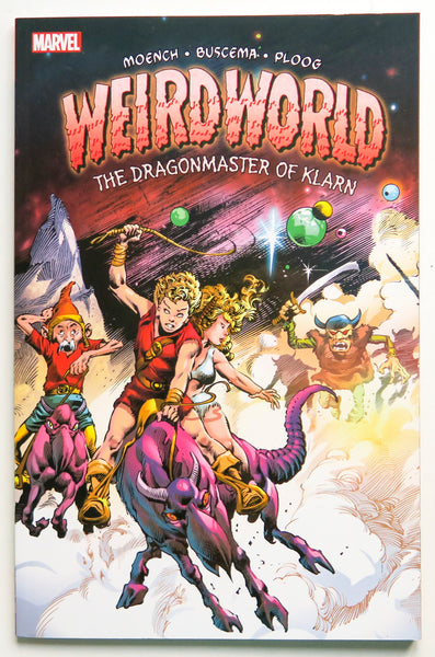Weirdworld The Dragonmaster of Klarn Marvel Graphic Novel Comic Book