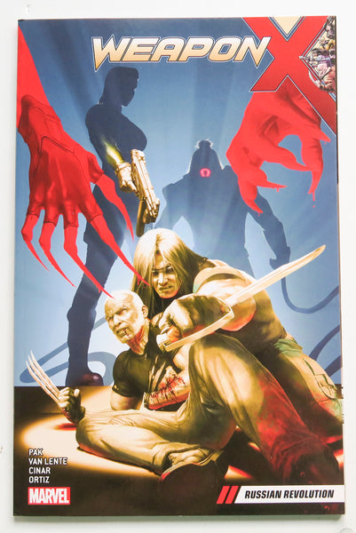 Weapon X Russian Revolution Vol. 4 Marvel Graphic Novel Comic Book