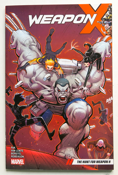 Weapon X The Hunt for Weapon H Vol. 2 Marvel Graphic Novel Comic Book