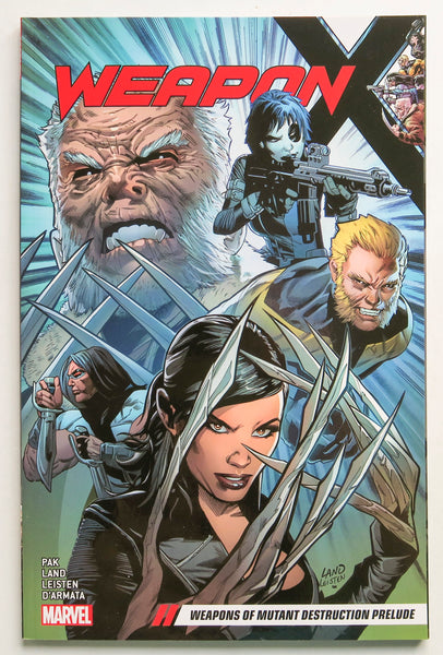 Weapon X Weapons of Mutant Destruction Prelude Vol. 1 Marvel Graphic Novel Comic Book