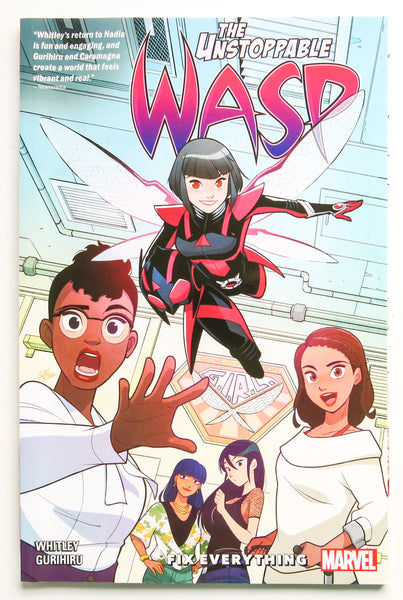 The Unstoppable Wasp Unlimited Fix Everything Vol. 1 Marvel Graphic Novel Comic Book