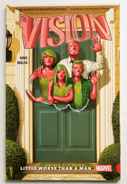 Vision Little Worse Than A Man Vol. 1 Marvel Graphic Novel Comic Book