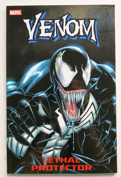 Venom Lethal Protector Marvel Graphic Novel Comic Book