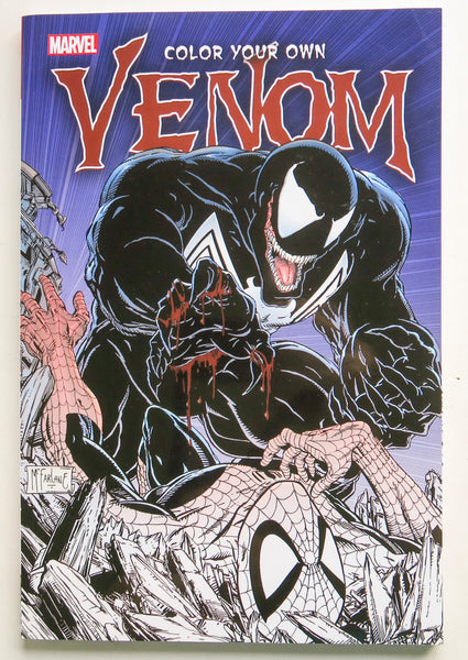 Color Your Own Venom Marvel Coloring Book