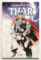 Color Your Own Thor Marvel Coloring Book
